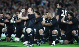 New Zealand Haka - focussing the mind?